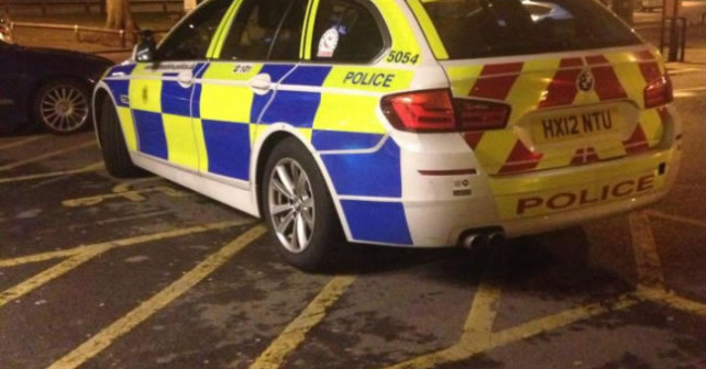 Hampshire Police Illegal Parking In Disabled Bay at McDonalds