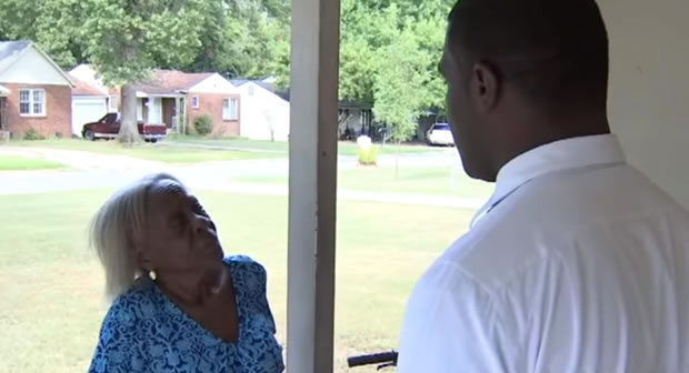 Police Pepper Spray 84 Year Old Black Woman in Her Home